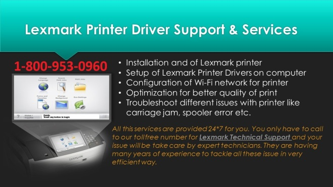 Lexmark Printer Support1